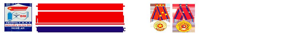 Trang Thông Tin Điện Tử Trường THPT Nguyễn Xuân Ôn
